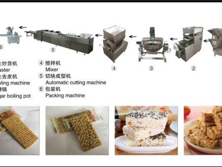 营养谷物棒生产线/营养谷物棒设备/谷物棒生产线