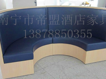 广西半圆卡座沙发定制批发价格