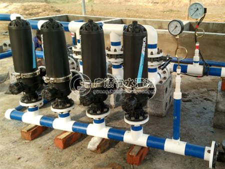 广西灌溉设备 手动反冲洗过滤器实用