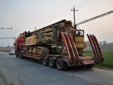 西安大件物流工程车运输工程机械运输