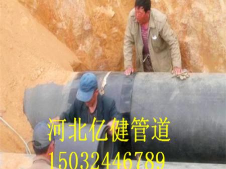 聚氨酯保温管施工现场