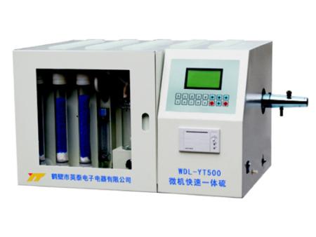 WDL-YT500型微机快速一体硫