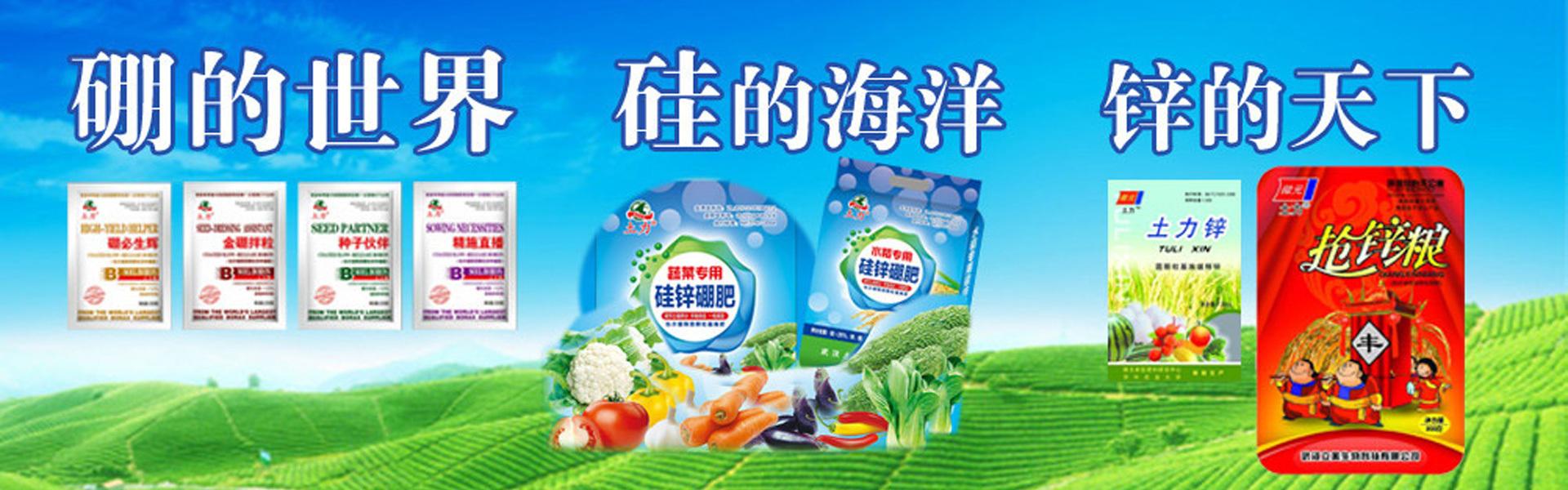 武汉土力肥业有限公司网站首页形象图