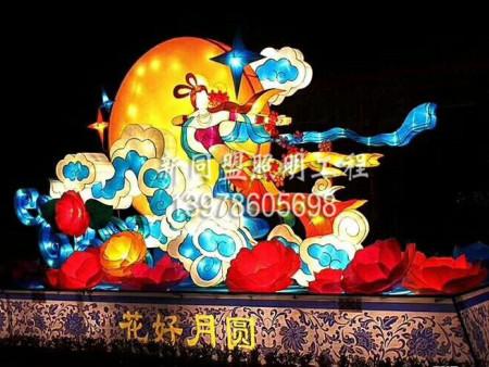 节假日灯饰,中秋节造型灯定制