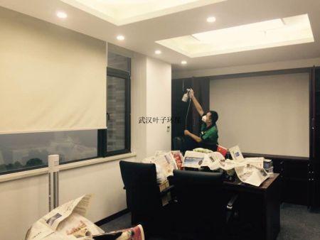 武漢江夏佩爾中心某辦公室除甲醛