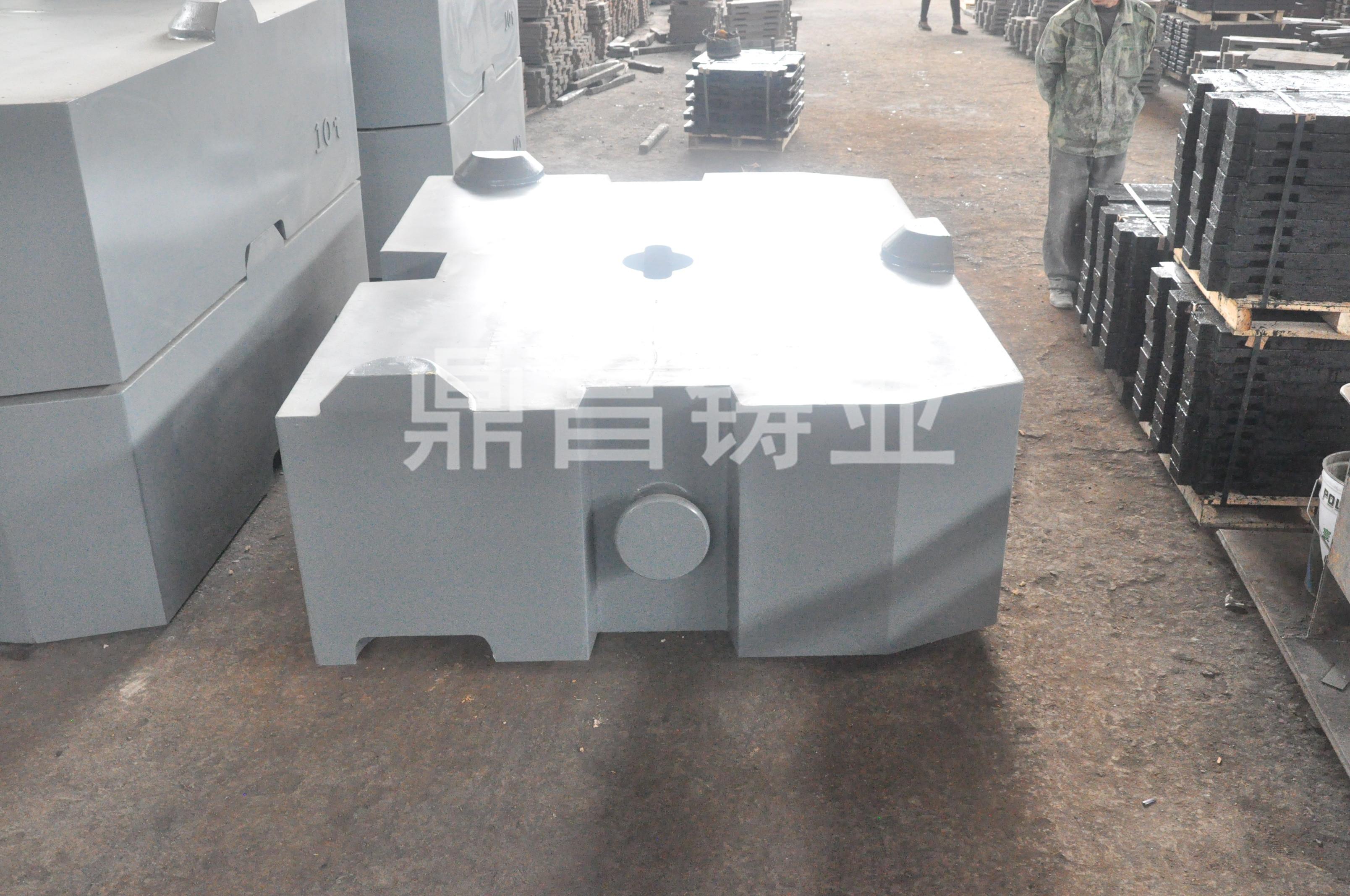 濮陽配重鐵 可信賴的利勃海爾配重塊服務商鼎昌鑄業