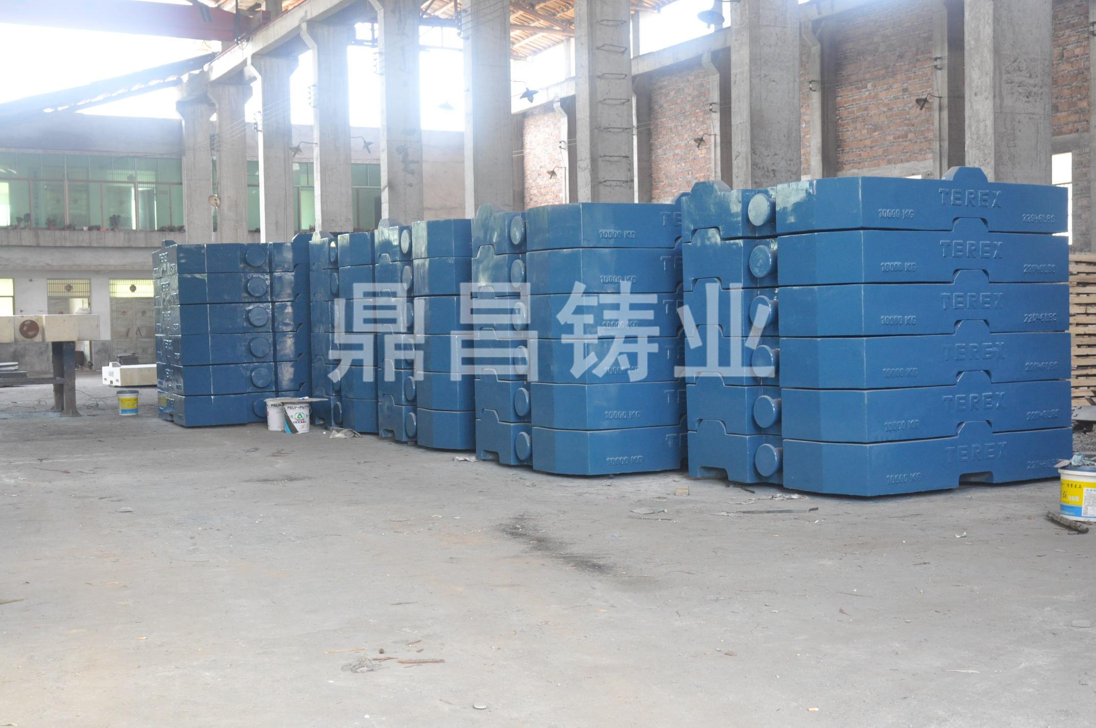 内蒙古配重块-专业的利勃海尔配重铁哪里有找鼎昌铸业