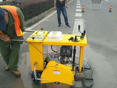 井盖切割机施工