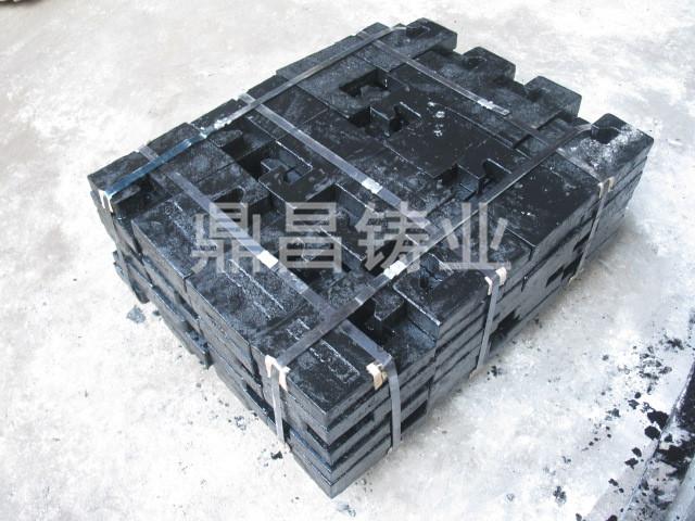 秦皇島配重塊-湖南服務周到的電梯配重鐵廠家生產