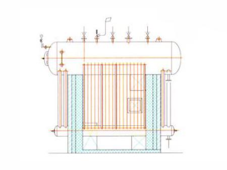 Qc型长城牌余热锅炉