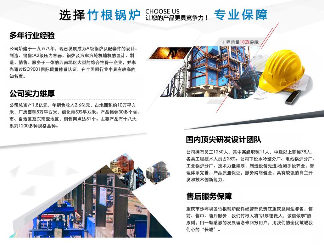 选择竹根锅炉,专业保障,让您的产品更具竞争力!