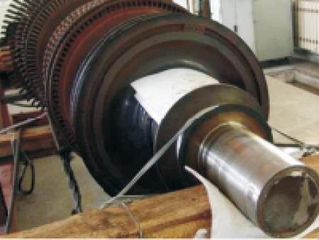 汽轮机轴修复--激光熔覆