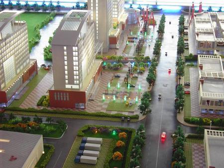 建筑模型企业该怎么习惯商场