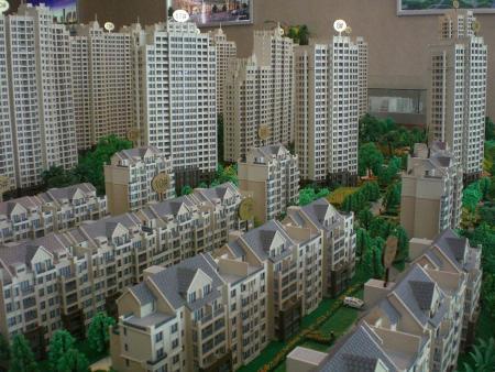 别墅模型制造东西资料与制造过程     