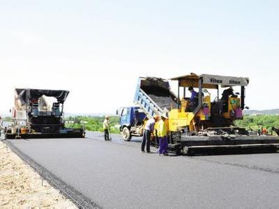泰安瀝青路面施工,瀝青道路鋪設,山東公路劃線工程-泰安兆強路橋工程有限公司