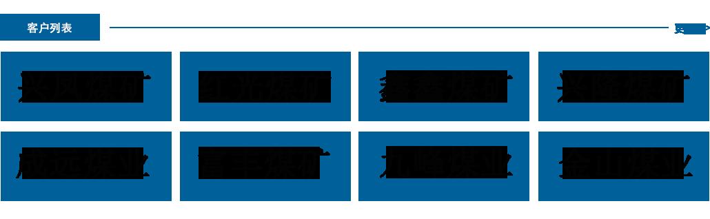 重庆市立讯矿山设备有限公司的部分客户列表