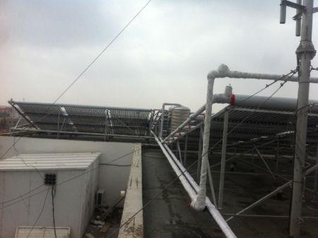 阿拉善右旗水利賓館15噸桑夏熱水工程 蘭州寧太量身打造