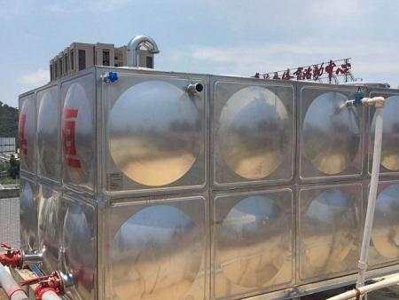 """承接""""厦门夏商营养餐有限公司不锈钢消防水箱更换"""""""