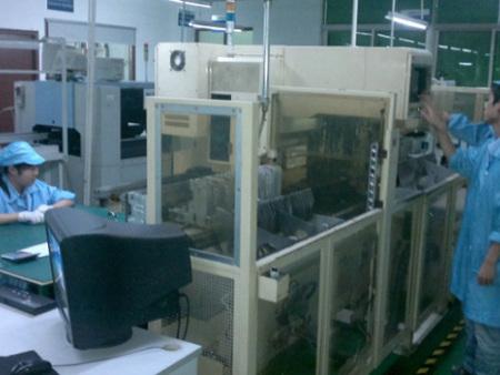 金彩光电显示屏生产车间6