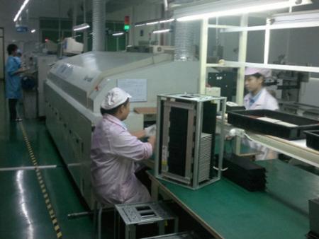 金彩光电显示屏生产车间8