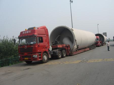 西安物流运输公司-水泥机械设备运输