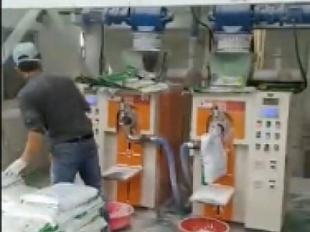 砂浆腻子粉包装机视频