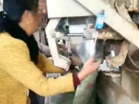 湿沙包装机视频