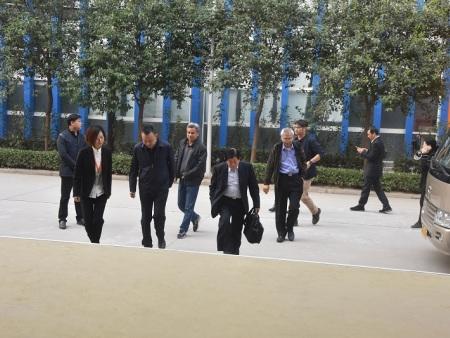 台湾太子企业集团副执行长柯明良一行到园区考察