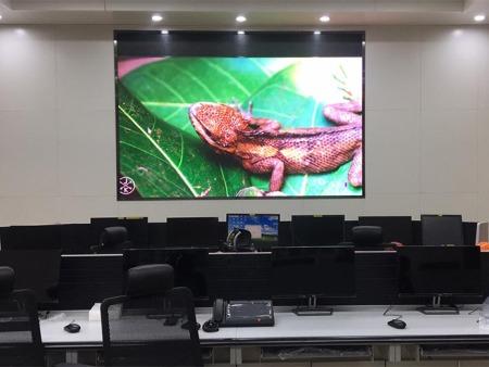 宁夏京能宁东发电有限责任公司 运行分析研究中心安装LEDP1.875显示屏