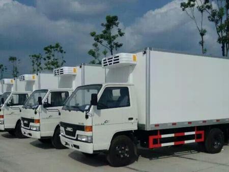 西安冷链物流公司-圣融达冷链物流公司冷藏运输车队