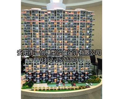 房产升降模型