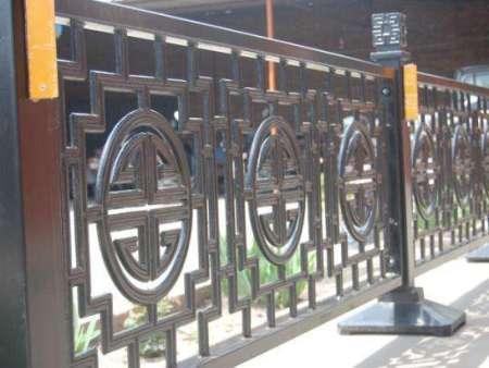 铁艺护栏的施工方案介绍
