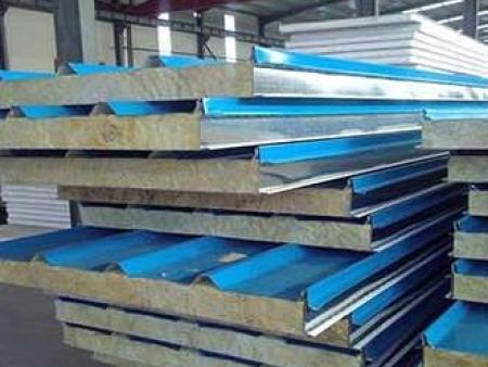 广西彩钢岩棉板,彩钢夹芯板,净化板厂家直销