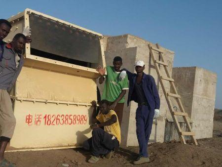 苏丹1214安装使用现场