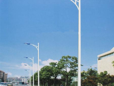 6米路灯杆路灯A字臂自弯臂led路灯3米4米5米7米8米道路灯高杆灯