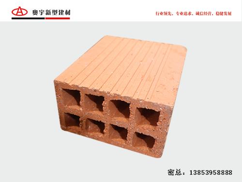 烧结自保温砌块