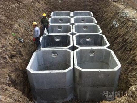 水泥化粪池施工