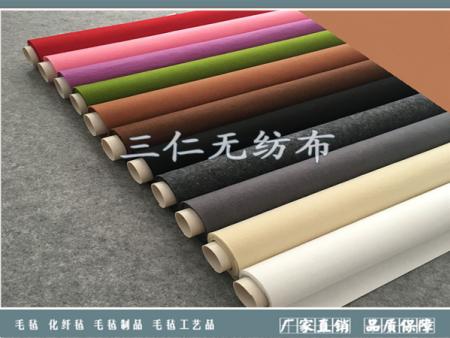 針刺化纖羊毛氈的用途
