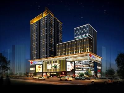 西宁偏转照明电器有限公司陕西分公司,亮化工程,VI系统标识,楼顶LED发光字,加油站形象包装,LED灯具