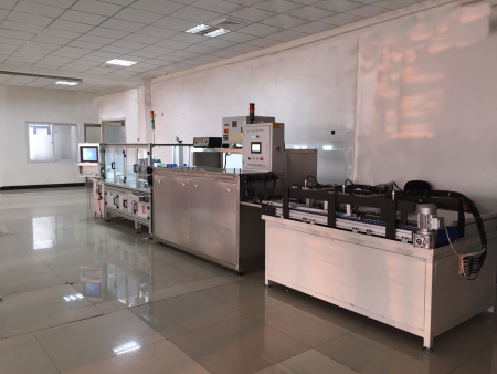 发动机气门挺杆自动检测线(自动上料、检测、激光标记、清洗、涂油、分组)