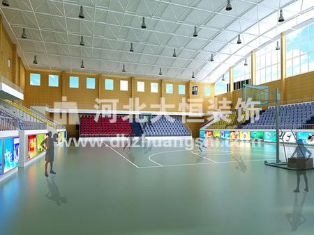 卢龙县体育馆装修工程