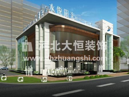 水悦阳光售楼处装修工程