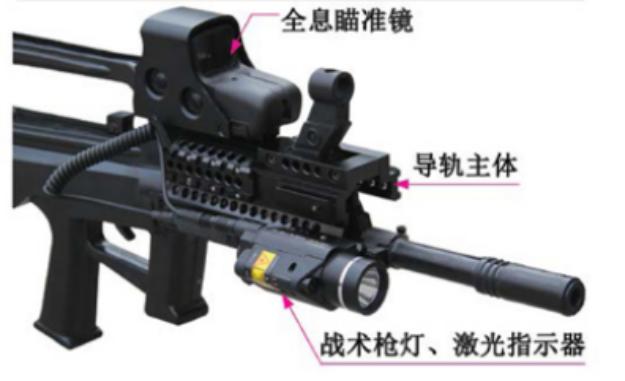 95 式自动步 枪战术导轨系统