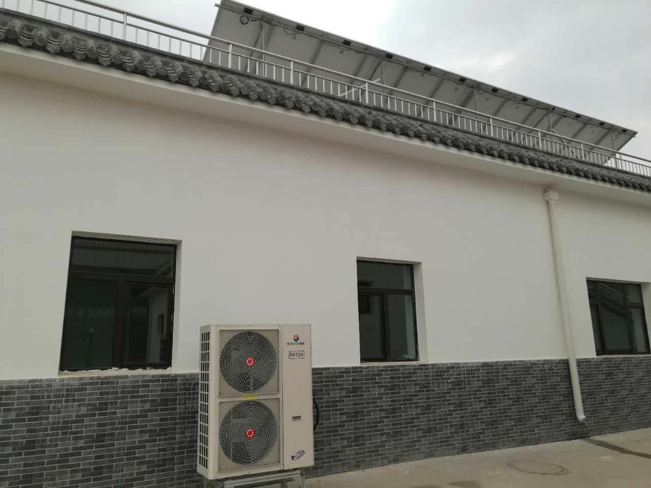 兰州变频空气源热泵:陇星热能新能源示范园