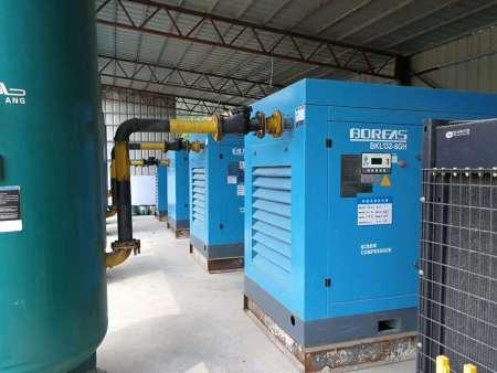 BK普瑞阿斯系列电动固定螺杆空气压缩机