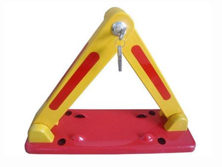 加厚上拉锁三角车位锁