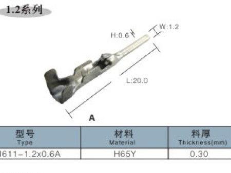 片型插头1.2m6米乐app官网下载