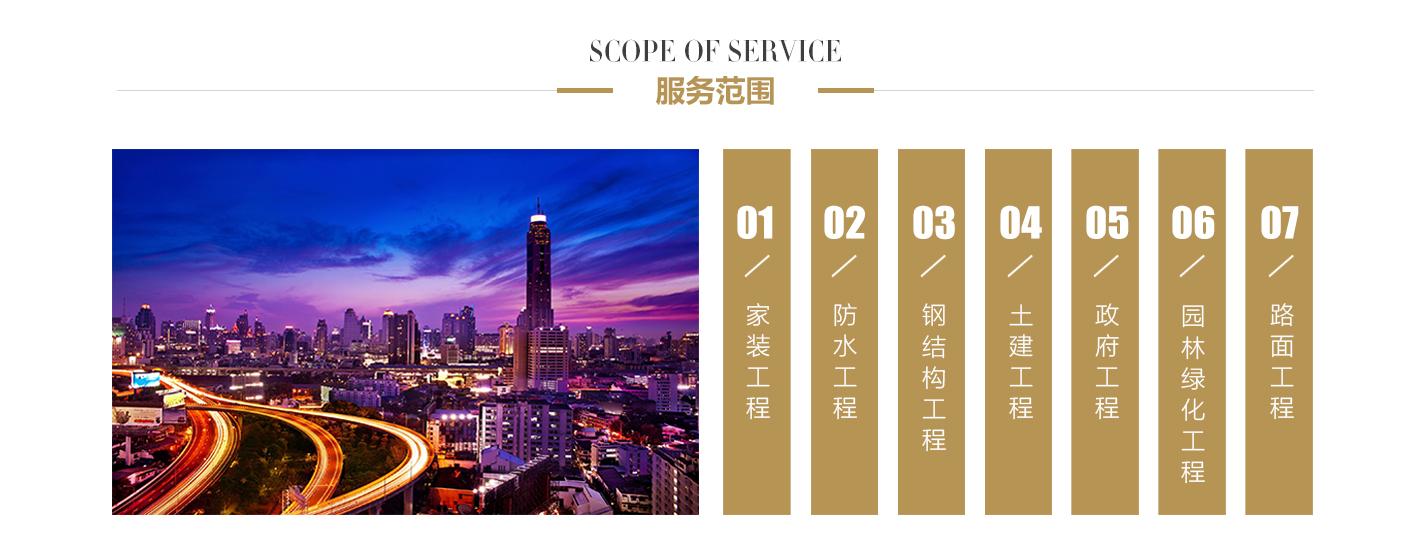 青州市科艺装饰中心服务范围