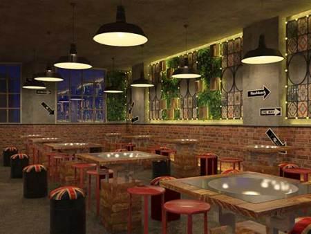 餐厅设计中灯火和色彩的讲究