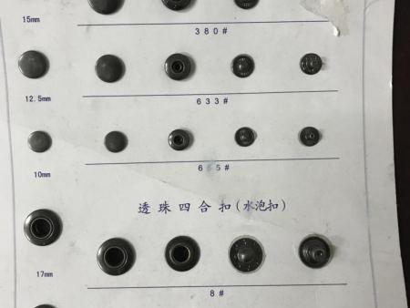 晋江纽扣厂家分享纽扣行业的三个基础知识